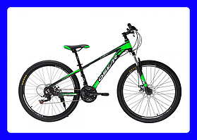 """Велосипед Oskar Piranha (Черно-Зеленый) 26"""""""
