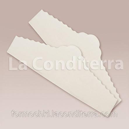 """Салфетки из пергамента для тортов и кондитерской сервировки """"Корона"""" (220x60 мм), в упаковке 500 шт."""