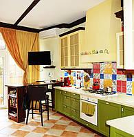 """Кухня """"Кантри"""" (Цвет - бежевый, желто-зеленый, венге)"""