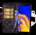 Чохол книжка Clover для Samsung J4 Plus 2018 / J415 (різні кольори), фото 4