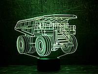 """Детский ночник - светильник """" Автомобиль 16 """" 3DTOYSLAMP"""