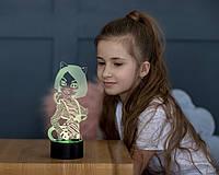 """Детский ночник - светильник """"Монстер Хай"""" 3DTOYSLAMP"""