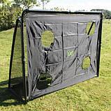 EXIT футбольные ворота стальные Coppa Tor 220 х 170 см чёрные, фото 4