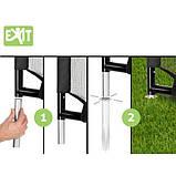 EXIT футбольные ворота стальные Coppa Tor 220 х 170 см чёрные, фото 6