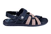 Мужские кожаные сандалии Timberland (реплика)