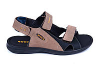 Мужские кожаные сандалии Ecco Biom late (реплика)