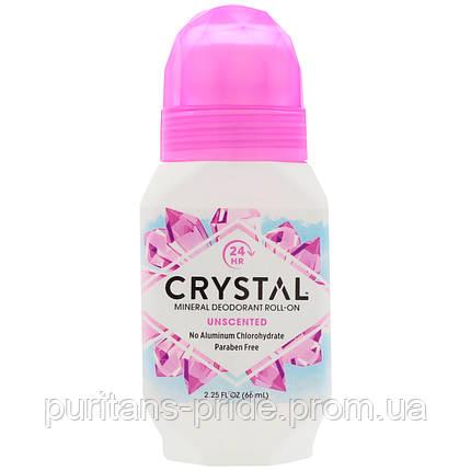 Натуральный роликовый дезодорант Кристалл (Crystal Body Deodorant Roll-on), фото 2