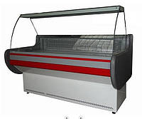 Холодильная витрина среднетемпературная ВХСК ЛИРА 1.3, фото 1