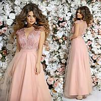 """Длинное платье в пол """" Ницца """" Dress Code, фото 1"""