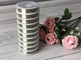 Проволока для бисероплетения-серебро 30м