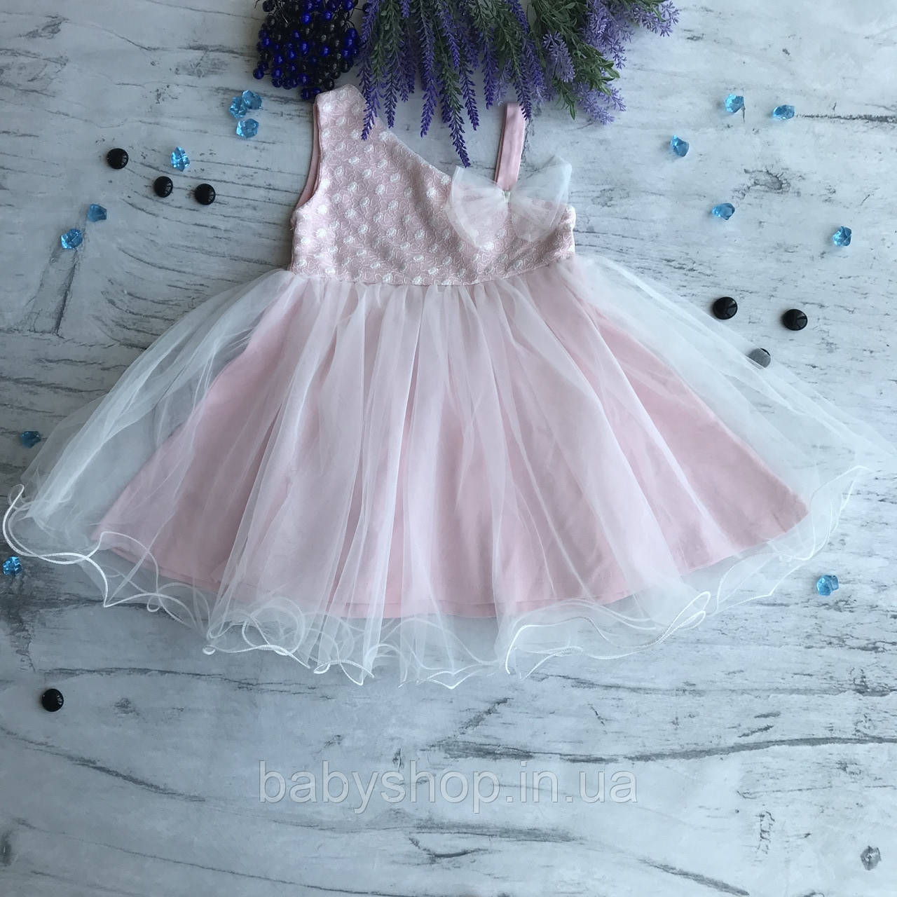 Летнее платье на девочку Breeze 312. Размер 98 см, 104 см, 110 см, 116 см, 128 см