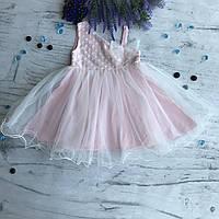 Летнее платье на девочку Breeze 312. Размер 98 см, 104 см, 110 см, 116 см, 128 см, фото 1
