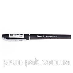 Гелева ручка Axent Autographe чорна