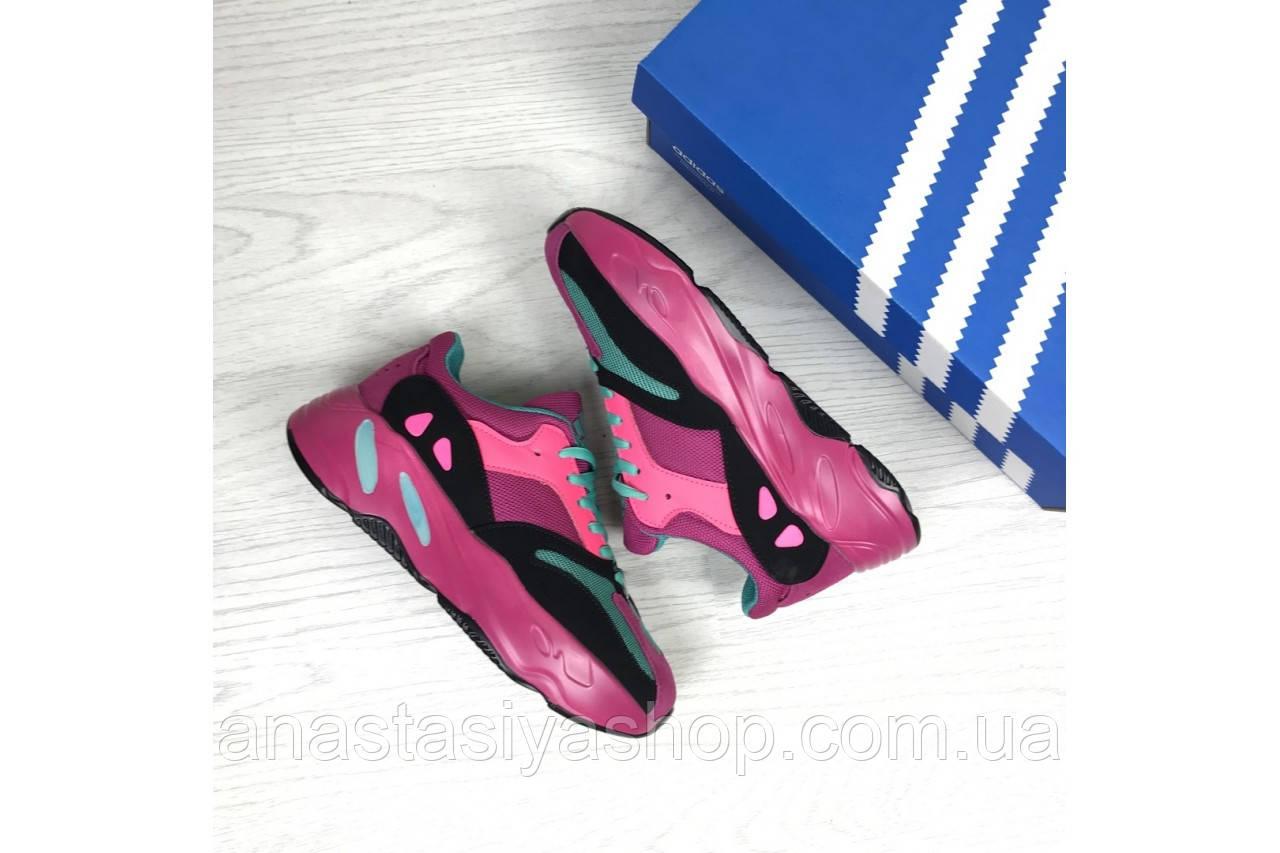 Кроссовки Adidas 7314 малиновые