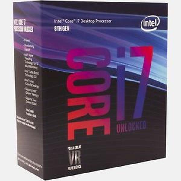 Процессор Intel Core i7 8700K 3.7GHz (12MB, Coffee Lake, 95W, S1151) Box (BX80684I78700K)