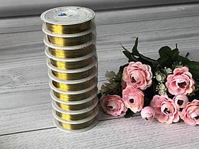 Проволока для бисероплетения-золото 30м
