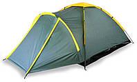 Палатка 3-х местная ((190х165х110)+90 см), TOURIST Sunday (73-035), фото 1