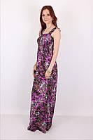 Модный летний сарафан с цветочным притном от производителя