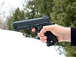 Страйкбольный пістолет Galaxy G25+ (точна копія Colt 1911 Rail) з кобурою, фото 7