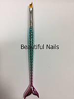 """Кисть для дизайна ногтей """"Русалка"""" №5, фото 1"""
