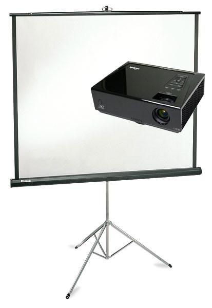 Аренда Проектор + Екран  на триноге