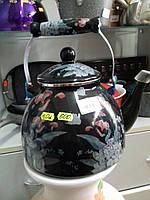 Чайник для плиты эмалированный