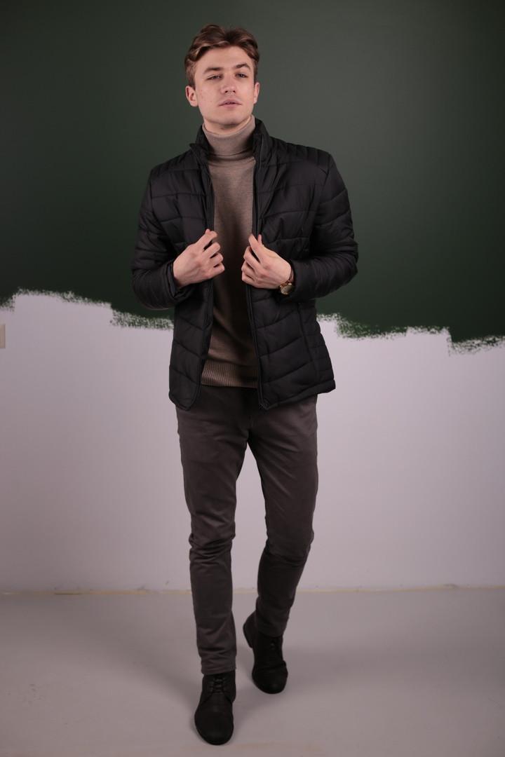 Мужская Весенняя куртка пуховик (Осень)