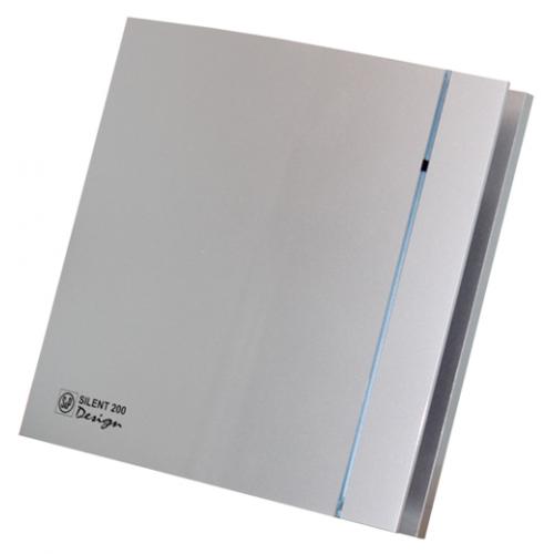 Вытяжной вентилятор Soler&Palau SILENT-100 CZ SILVER DESIGN -3C