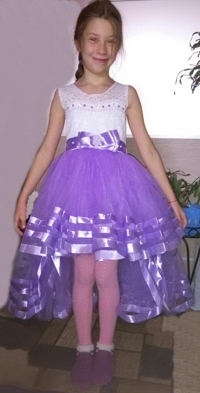 Дитяча бальне плаття для дівчаток 9-10 років.