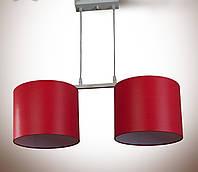 Люстра металлическая с абажурами для спальни, кухни, детской