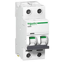 Автоматический выключатель iC60N 2P 50A C Schneider Electric (A9F79250), фото 1