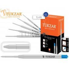 TZ 81 Стержни объемные металлические шариковые 0,8мм, СИНИЙ TUKZAR