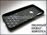 Черный противоударный чехол бампер Carbon TPU для Asus Zenfone max pro M1 ZB602KL X00td, фото 6