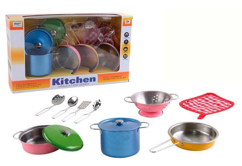 Набор цветной посуды Doris Kitchen 555-CS001