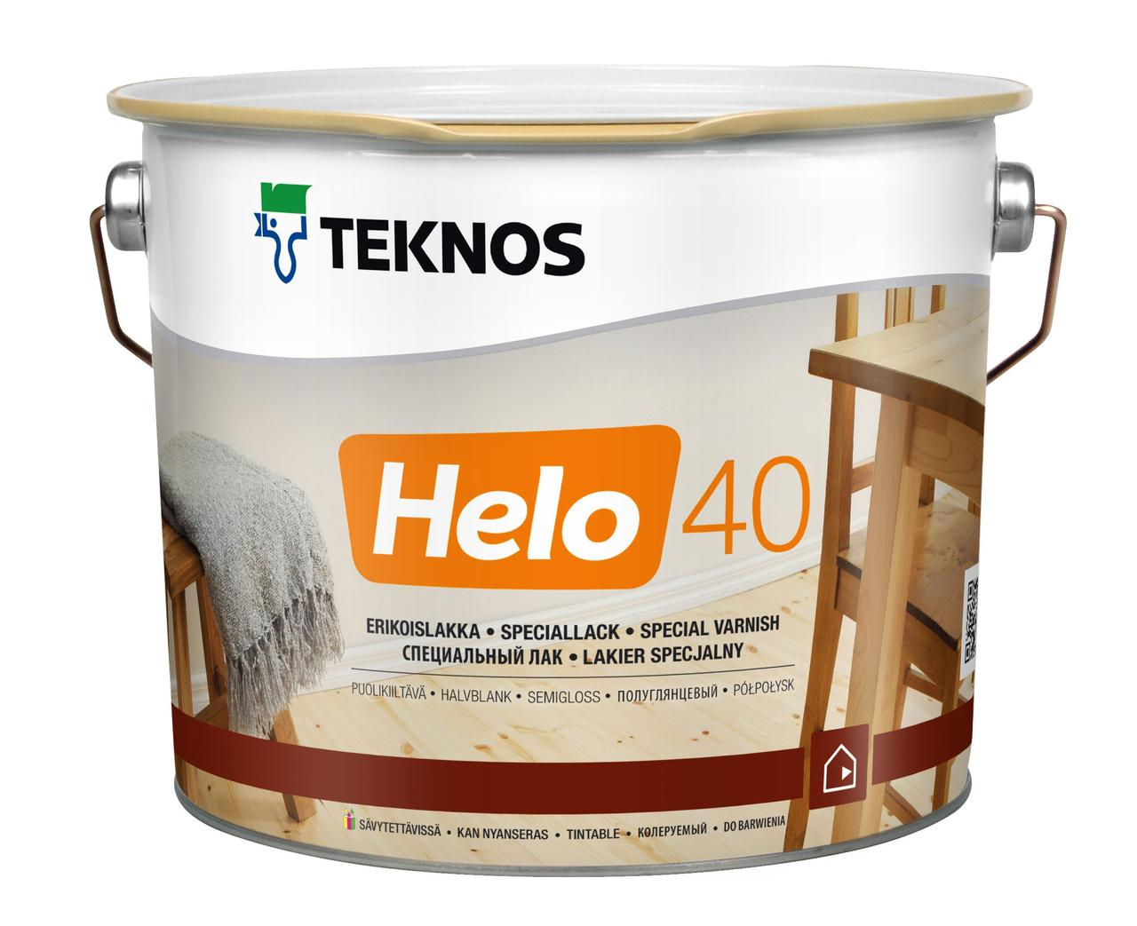 Лак Універсальний Teknos Helo 40 2.7л