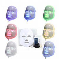 Фотодинамическая (Светодиодная) LED-маска для лица 7 цветов