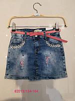 Джинсовая юбка для девочек Seagull 134-164 p.p.