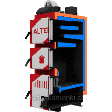 Твердотопливный котел длительного горения Альтеп CLASSIC PLUS 24 кВт (автоматика), фото 2