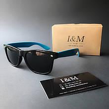 Солнцезащитные очки I&M Craft голубые (180102)