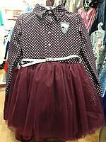 Красивое платье на девочку подросток с пышной юбкой