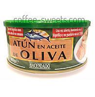 Тунец Hacendado Atun en aceite de Oliva 900 гр