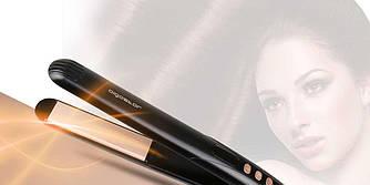 Керамический выпрямитель для волос, щипцы для завивки AIGOSTAR