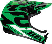 Велошлем Bell Transfer 9 зелёный Glow (GT)