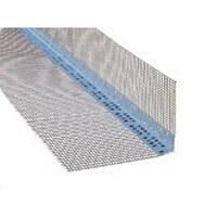 Уголок пласт. перфорированный  со  стеклосеткой TERMOMASTER  7*7см 3м