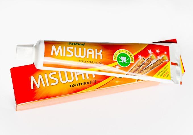 Зубная паста с экстрактом дереваMiswak.Sahul