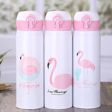 """Термос стальной """"Фламинго"""" 500 мл, фото 2"""