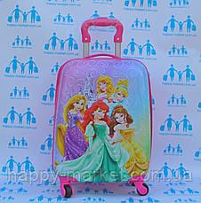 Чемоданы детские стандарт ручная кладь 44 см Josepf Ottenn Принцесса 0486-5\1609, фото 3