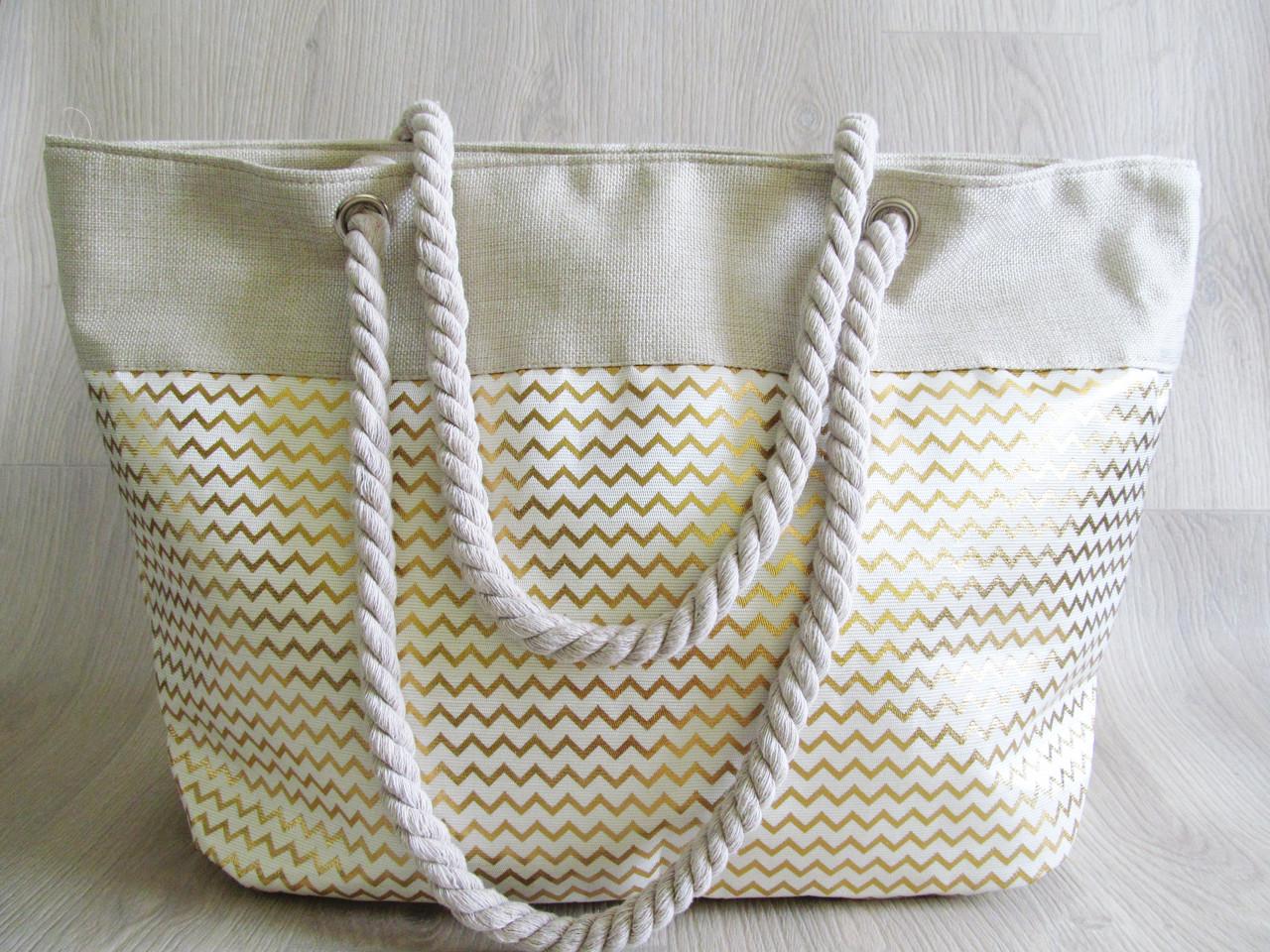 040b9b3d6d11 Стильная пляжная сумка -