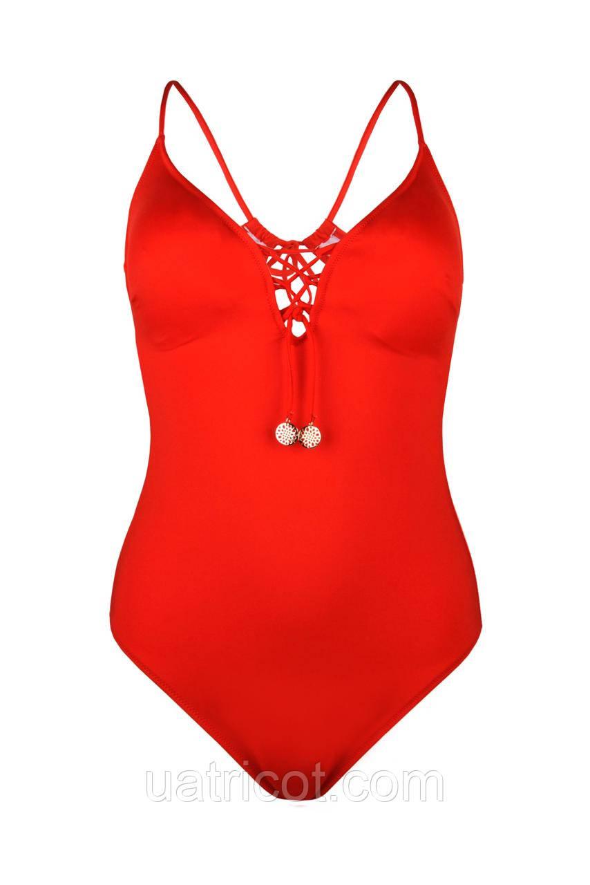 Купальник женский майо KIFA К-875 красный