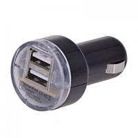 Автомобильная USB зарядка UKC  от прикуривателя 12v 002